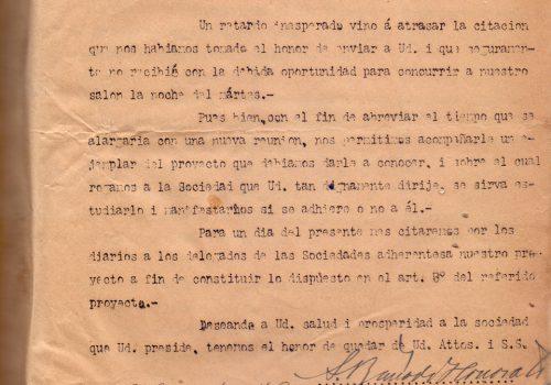 Carta-Sociedad-de-obreros-SM-M-Balmaceda-8-oct-1908