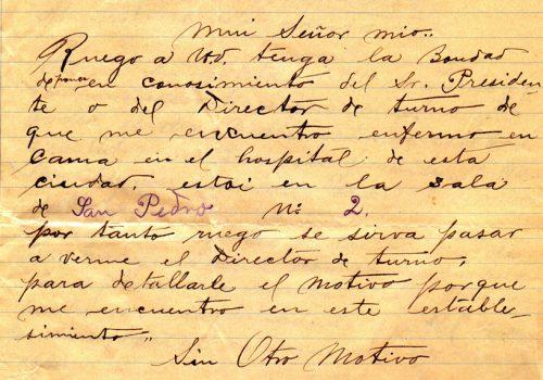 Carta-manuscrita-socio-enfermo--1-julio-1908