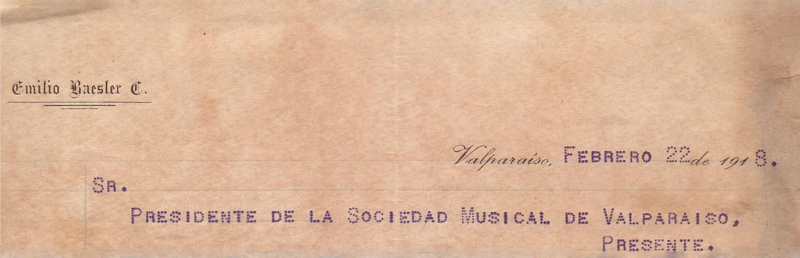 Encabezado carta- 22 feb 1918