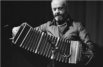 El maestro Astor Piazzola