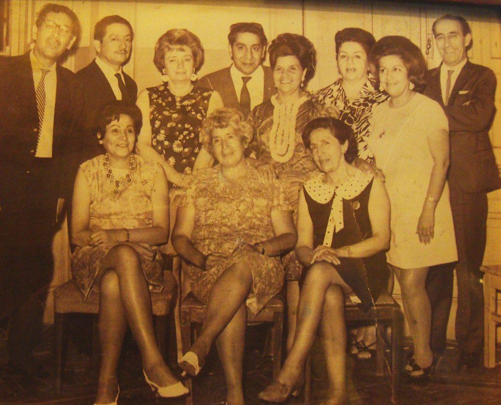 Socios fundadores del Buenos Aires Tango Club, 1963