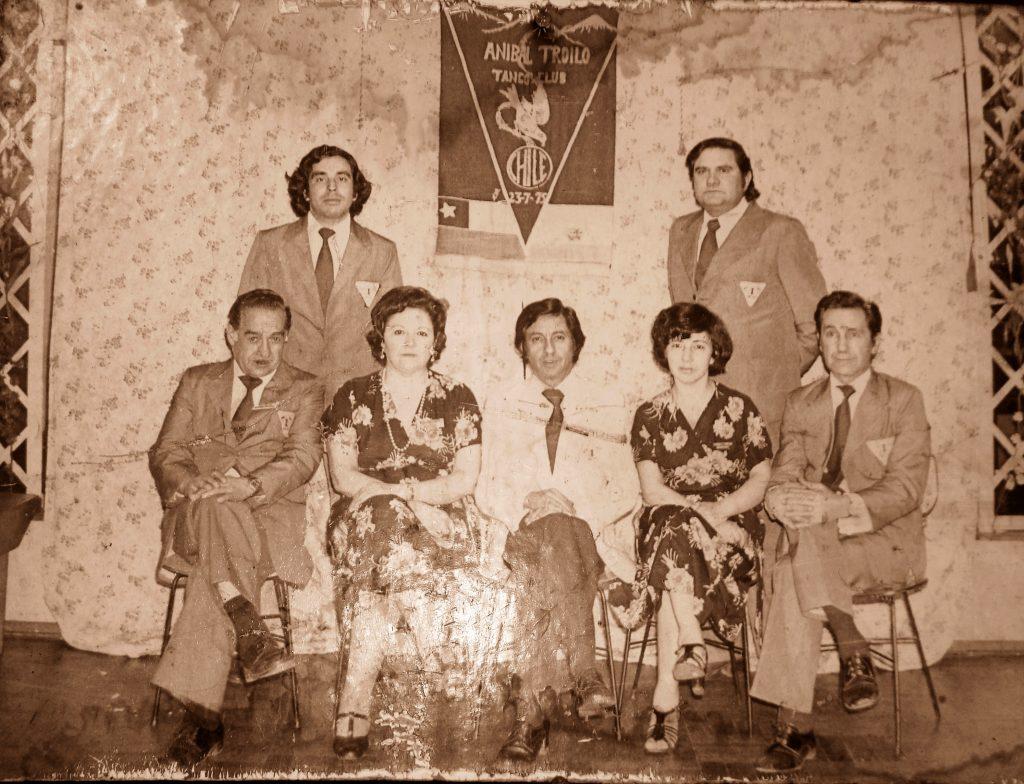 Socios del Club Aníbal Troilo, Santiago 1975