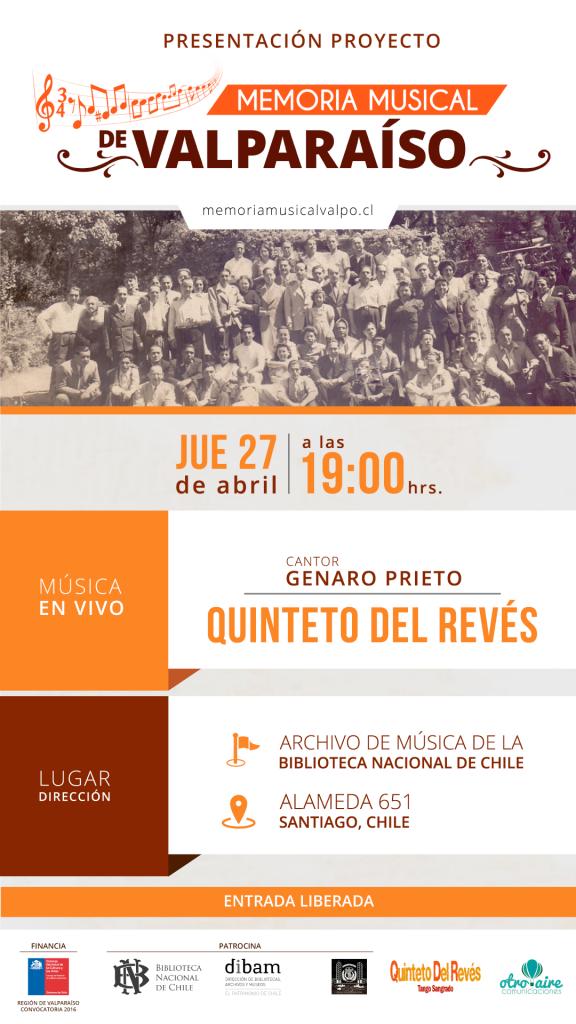 Invitacion Presentación Proyecto 2017