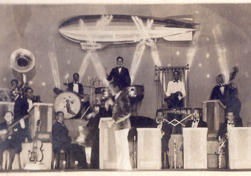 Pablo Garrido y su orquesta de jazz, Casino Municipal de Viña del Mar, 1935