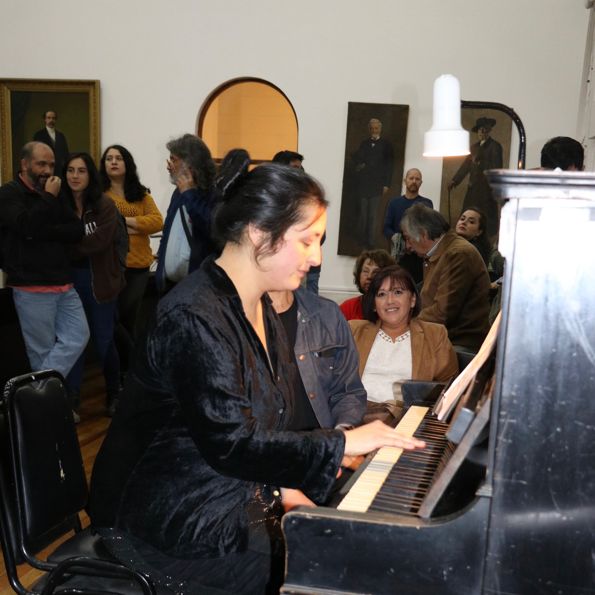 Adiós a Valparaíso [Pedro Césari] en vivo por Catalina Jiménez en el lanzamiento del Archivo Sonoro de Memoria Musical de Valparaíso