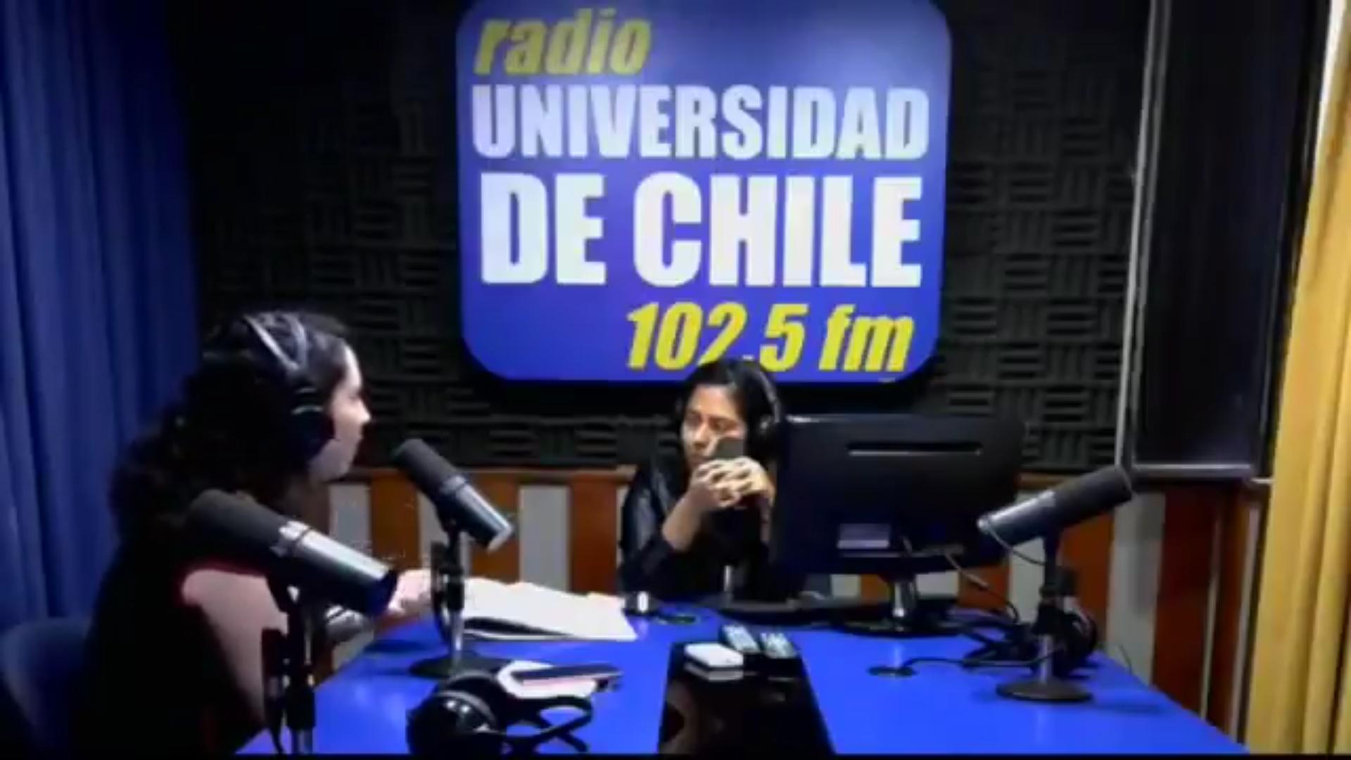 Entrevista en Radio Universidad de Chile, 2018