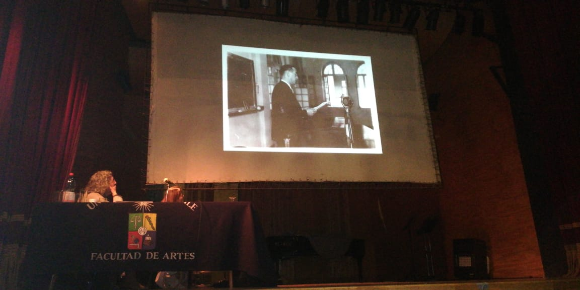 Presentamos en Seminario sobre Pablo Garrido [Video]